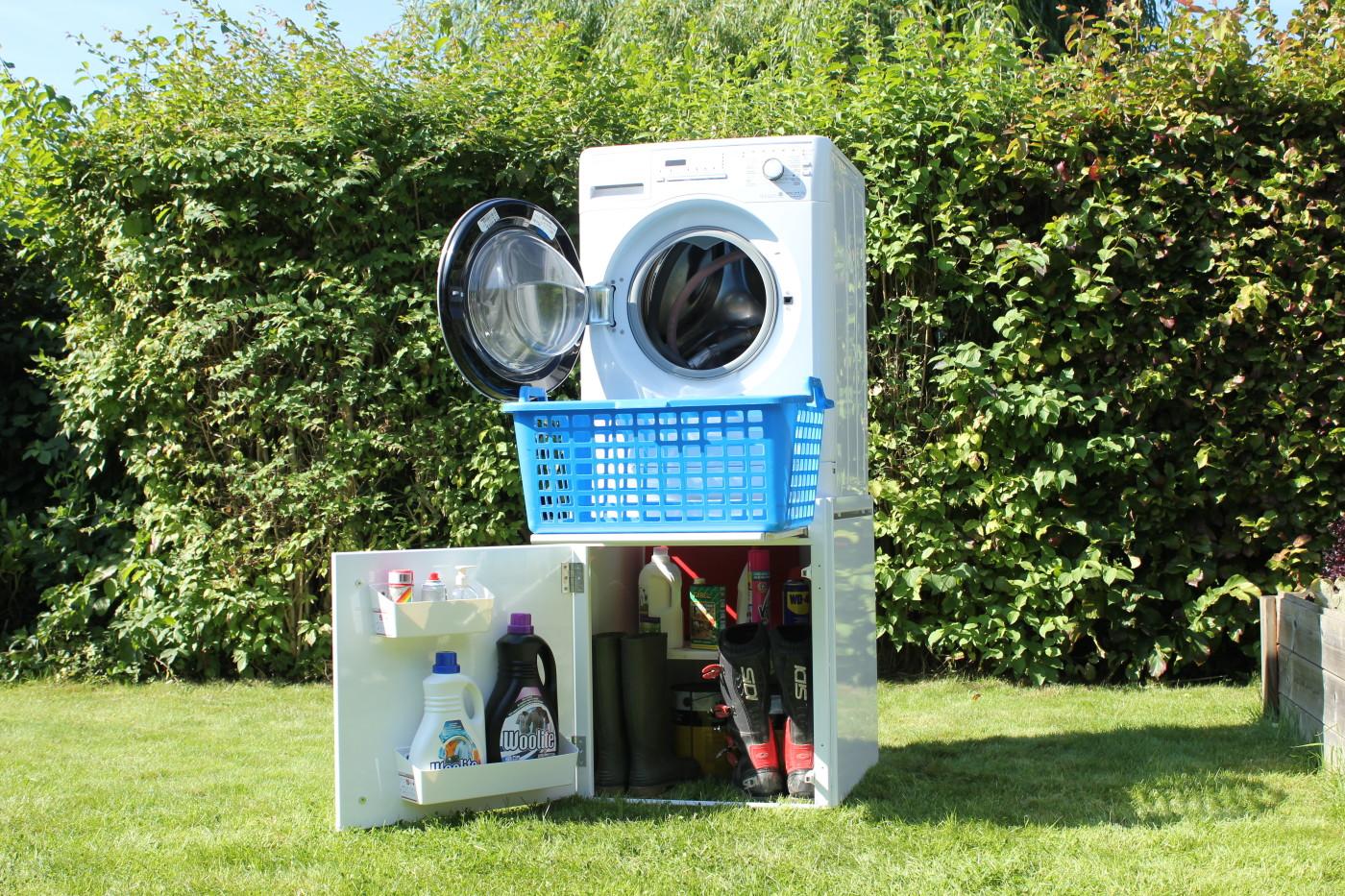 le wash 39 up support pour machine laver et s che linge wash 39 up support de lave linge