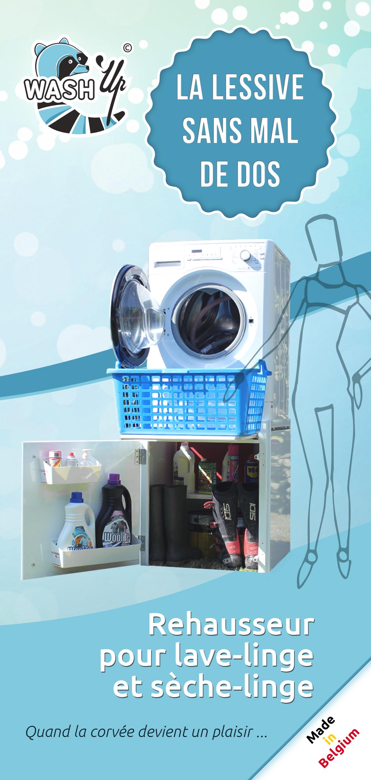 le d pliant wash 39 up est sorti de presse wash 39 up. Black Bedroom Furniture Sets. Home Design Ideas
