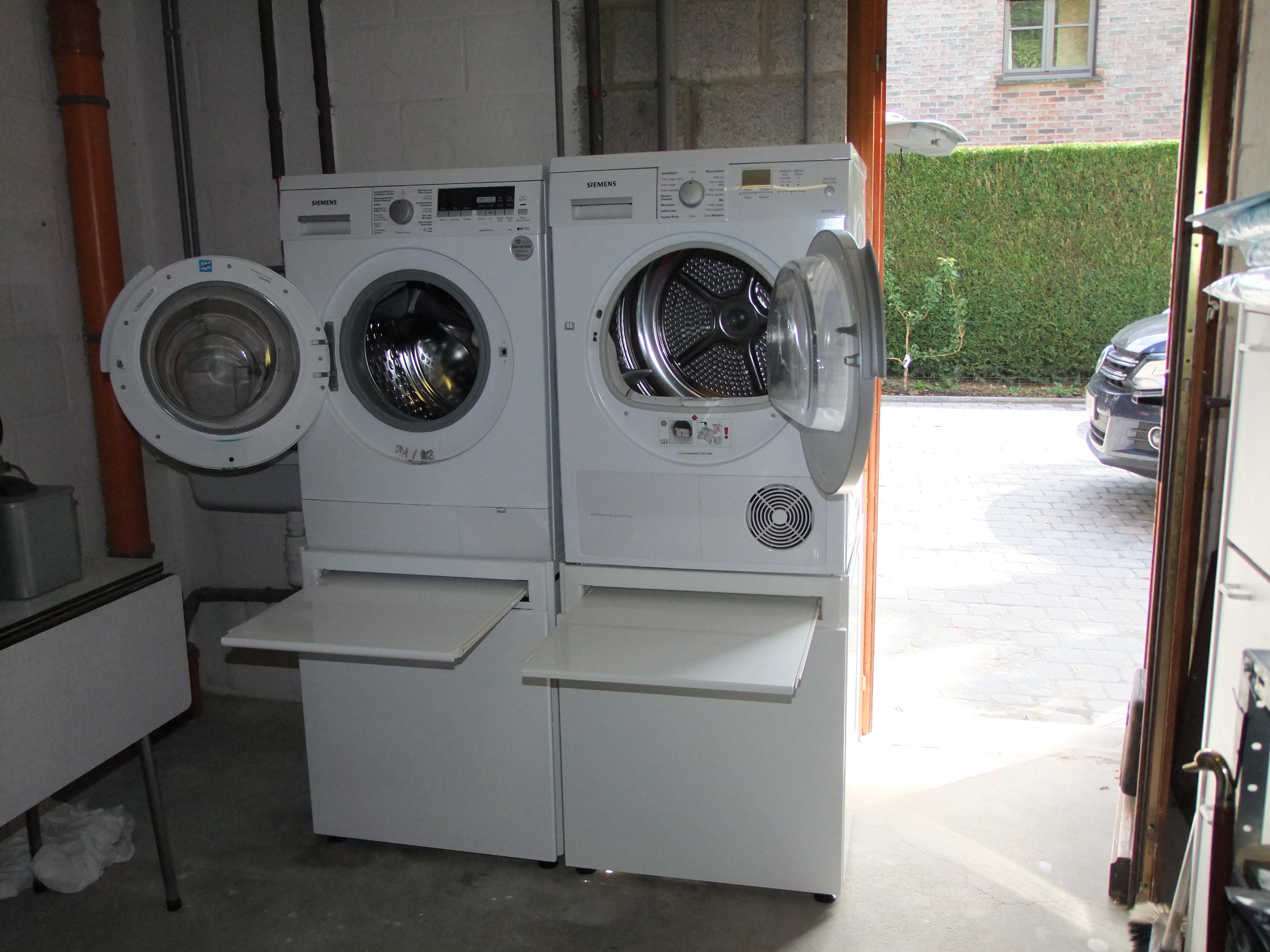 Blog wash 39 up support de lave linge fabriqu en belgique - Installation machine a laver ...